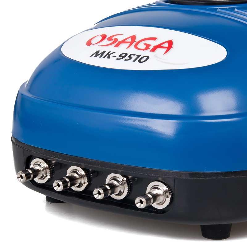 OSAGA MK-9510 Teichbelüfter Luftpumpe Koi Teich Aquarium Belüfter Set