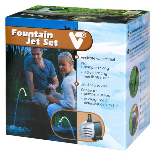 Fountain Jet Set Beleuchteter Wasserstrahl