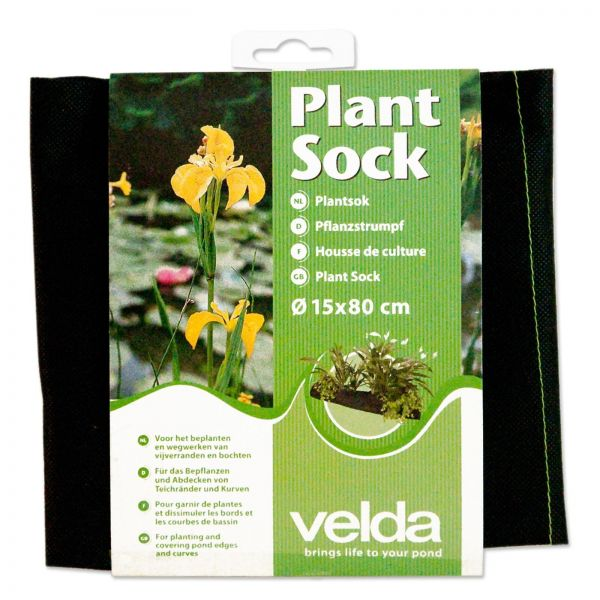 Velda Plant Sock - Pflanzstrumpf für die Randbepflanzung Ø 15 x 80 cm