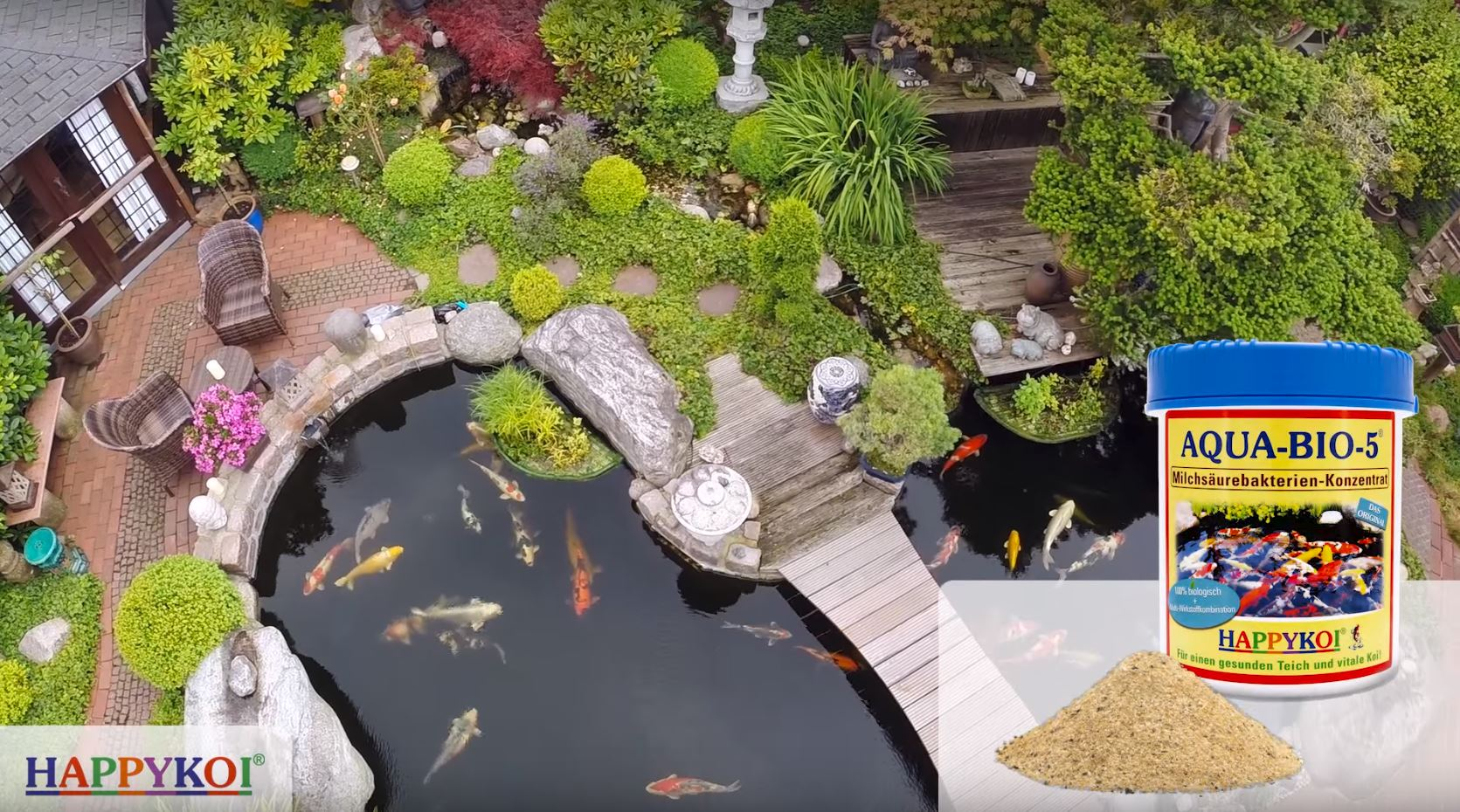 Aqua Bio 5 Erfahrungen - Milchsäurebakterien für Koi Teich