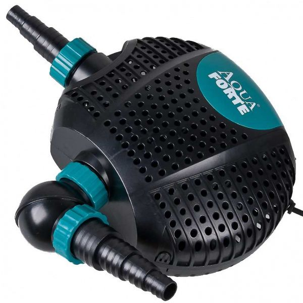 RD725 Schwimmteichpumpe AquaForte O-Plus 6500LV 12 Volt