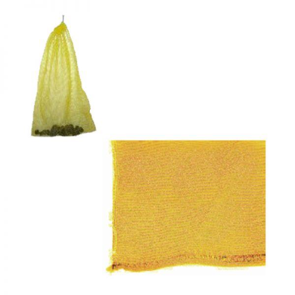 Netzsack für Filtermaterial gelb 32 x 48 cm