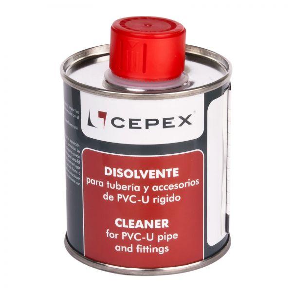 Cepex Reiniger125ml Dose Reiniger für PVC-U Rohre und Fittinge