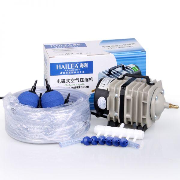 Hailea Luftkompressor ACO-318 Set