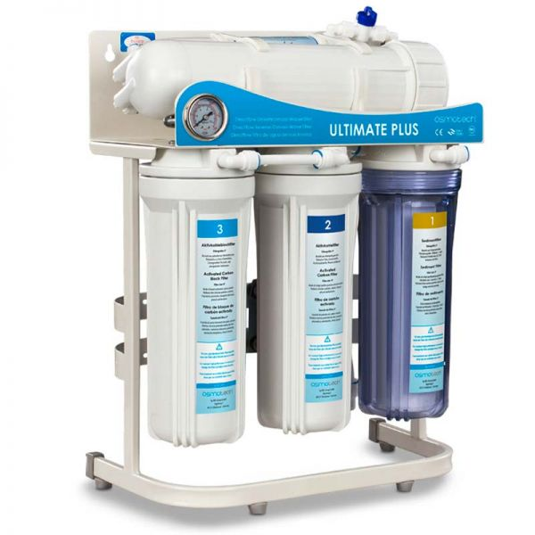 Ultimate PLUS SuperFlow Umkehrosmose System Wasserfilte
