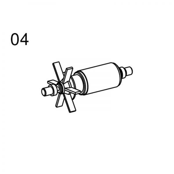 Messner Pumpen - Ersatzteile 04 Rotor für system-N 2100 system-Tec 2000 und system-x 2500 168 / 009117