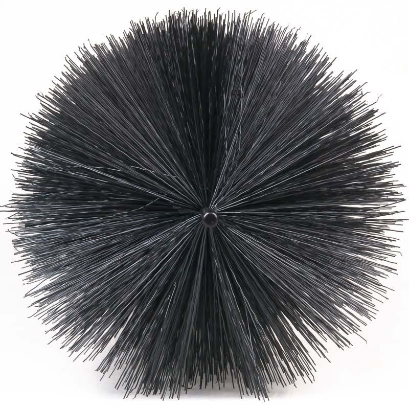 Filterbürsten 30 cm Schwarz Teichbürste Gartenteich Teichfilter Koi Filter Brush