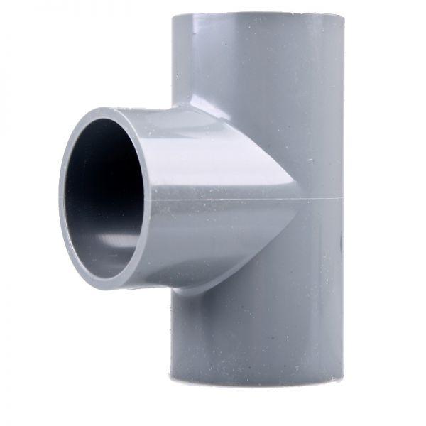 PVC T-Stück 90° 75 mm ECO