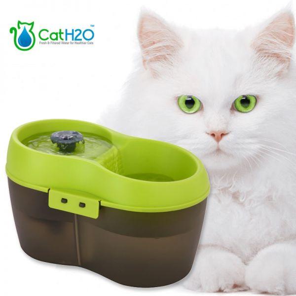 Cat H2O Trinkbrunnen anthrazit-grün