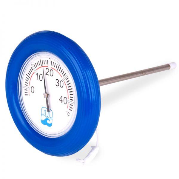 Teich und Pool Thermometer mit Rettungsring