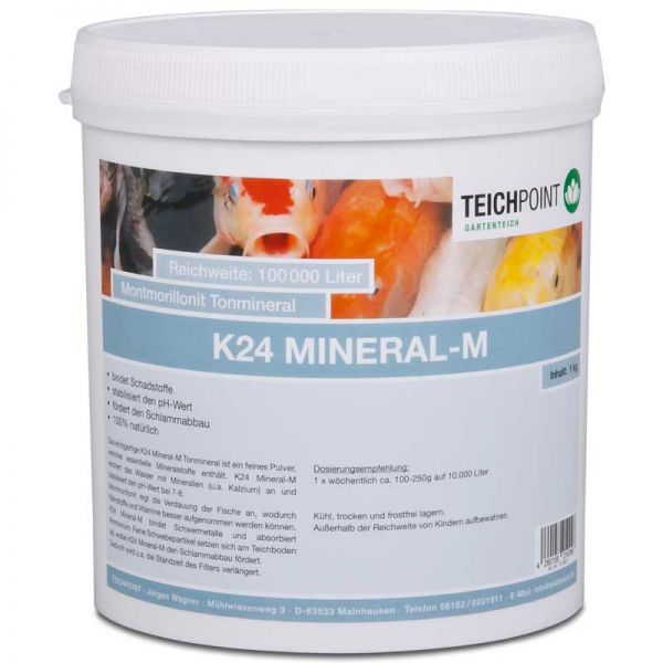 4 kg K24 Mineral-M von Teichpoint