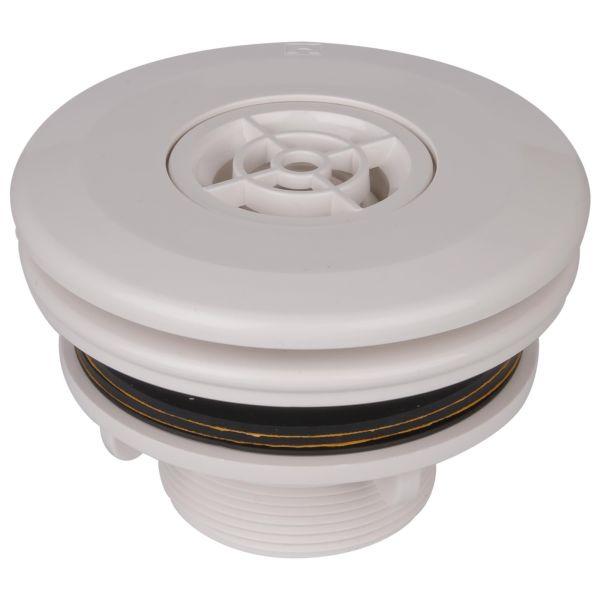 AstralPool Einlaufdüse Multiflow mit Kontermutter und Flansch für Folienbecken