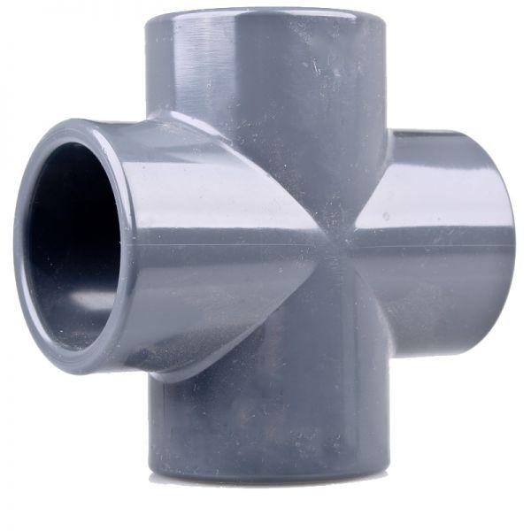 PVC Kreuzstück 63 mm