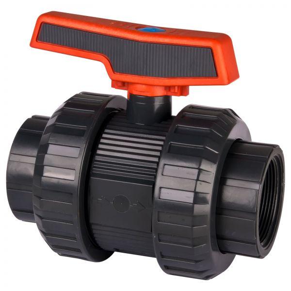 "36516 UP. 60ST. FT5 - Cepex PVC-Kugelhahn 2"" Innengewinde DN50 PN16"