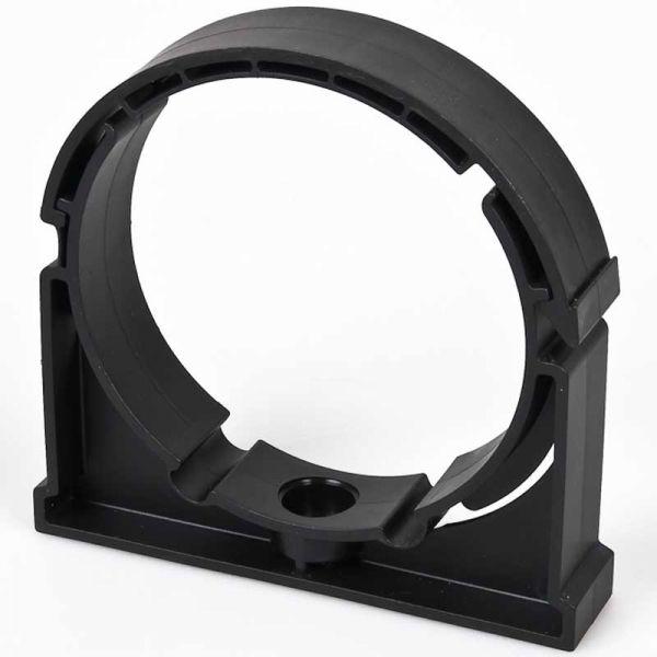 Rohrschelle Rohrklemme 110 mm schwarz für Teich Koi Verrohrung