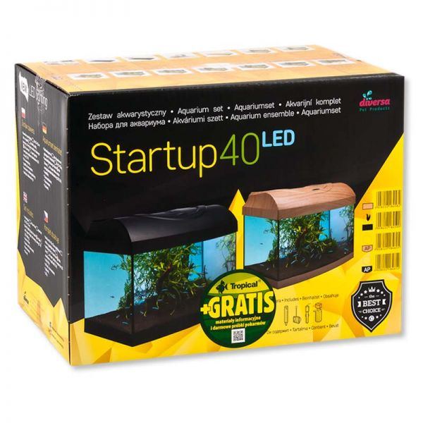 Diversa Startup LED - Aquarium Set