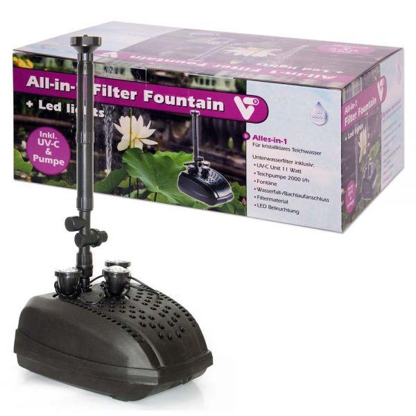 Velda VT Fountain mit UV-Lampe und Filter