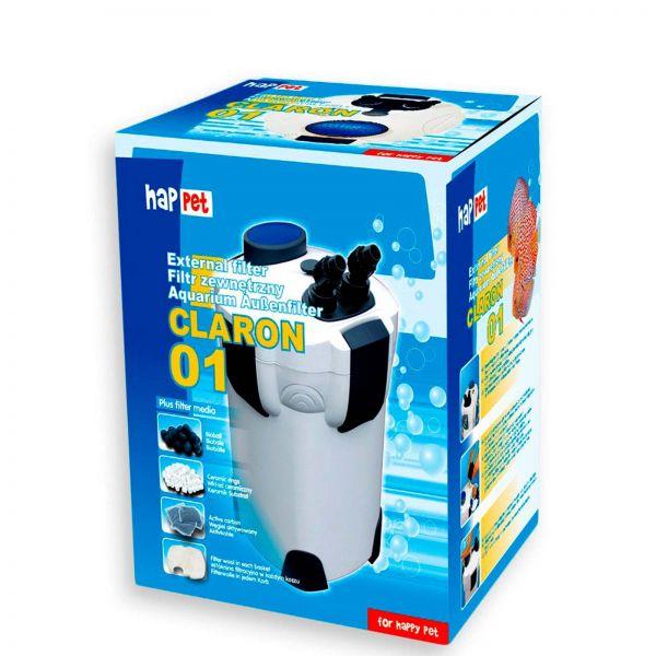 Happet Außenfilter Claron 01 für Aquarien bis 400 Liter