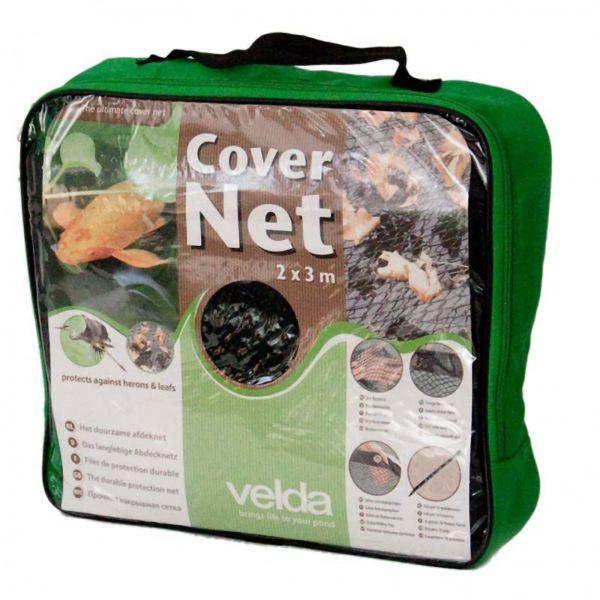 Velda Cover Net 2x3 Meter Teichschutznetz schwarz