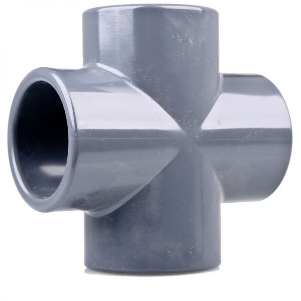 PVC Kreuzstück 90 mm