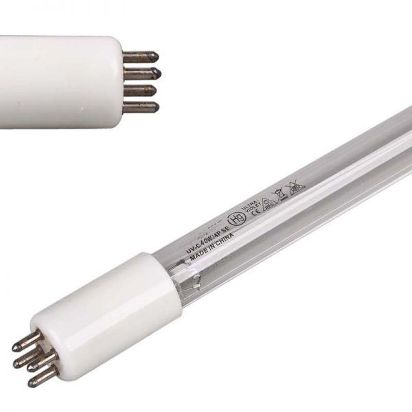 UV-C Röhre für Tauch UV Gerät 4 Pin weisser Sockel T5 G5 40 Watt