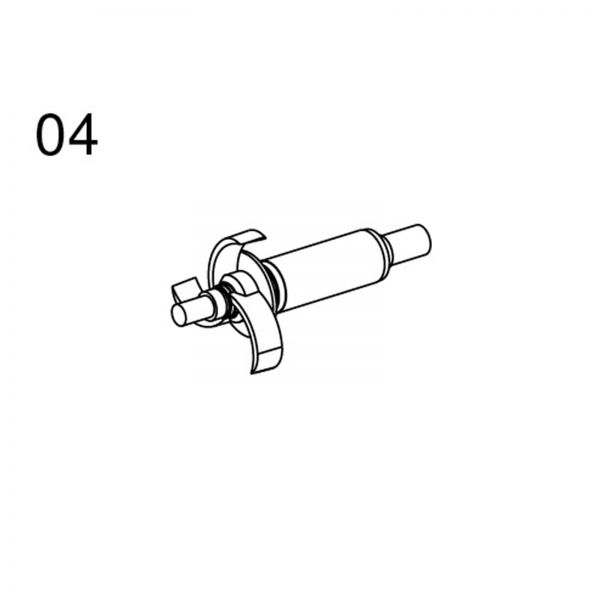 Messner Pumpen - Ersatzteile 04 Rotor für system-N 1200 system-Tec 1000 und system-x 1500
