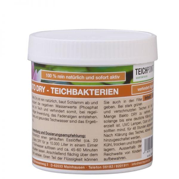 100g Bakto-Dry Teichbakterien für klares Teichwasser