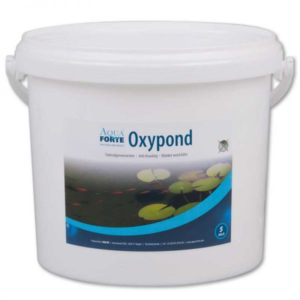 AquaForte Oxypond 5 kg Eimer Fadenalgenvernichter SC804