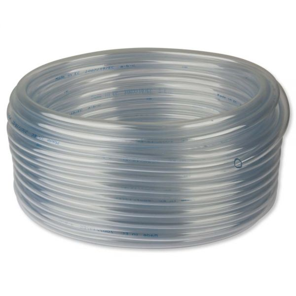 Luftschlauch PVC 9/12 mm Rolle 50 Meter