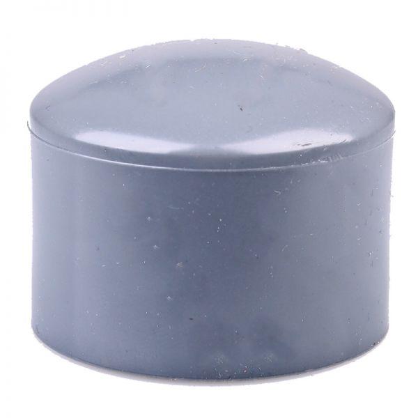 PVC Kappe 63 mm ECO
