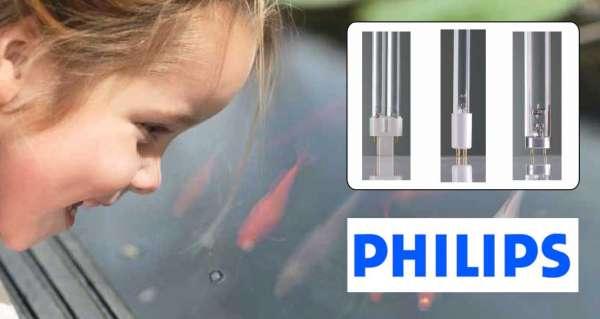 Philips UVC Ersatzlampen für Teichklärer