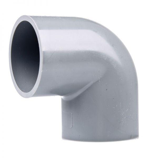 PVC Winkel 90° 75 mm ECO