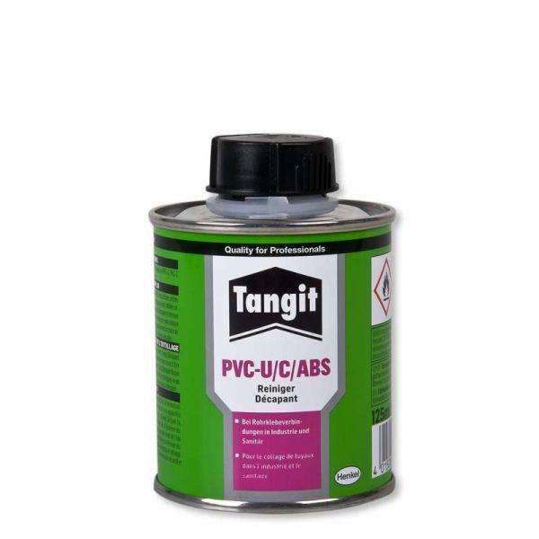 Reinigungsmittel für Klebeverbindungen aus PVC-U und PVC-C und ABS