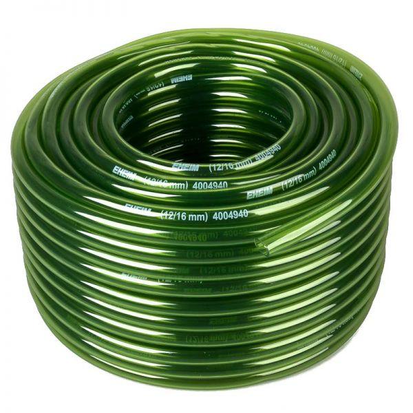 EHEIM original Kunststoffschlauch grün für Aquarien Durchmesser 12/16 mm